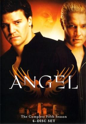 Angel Season 5 DVD cover