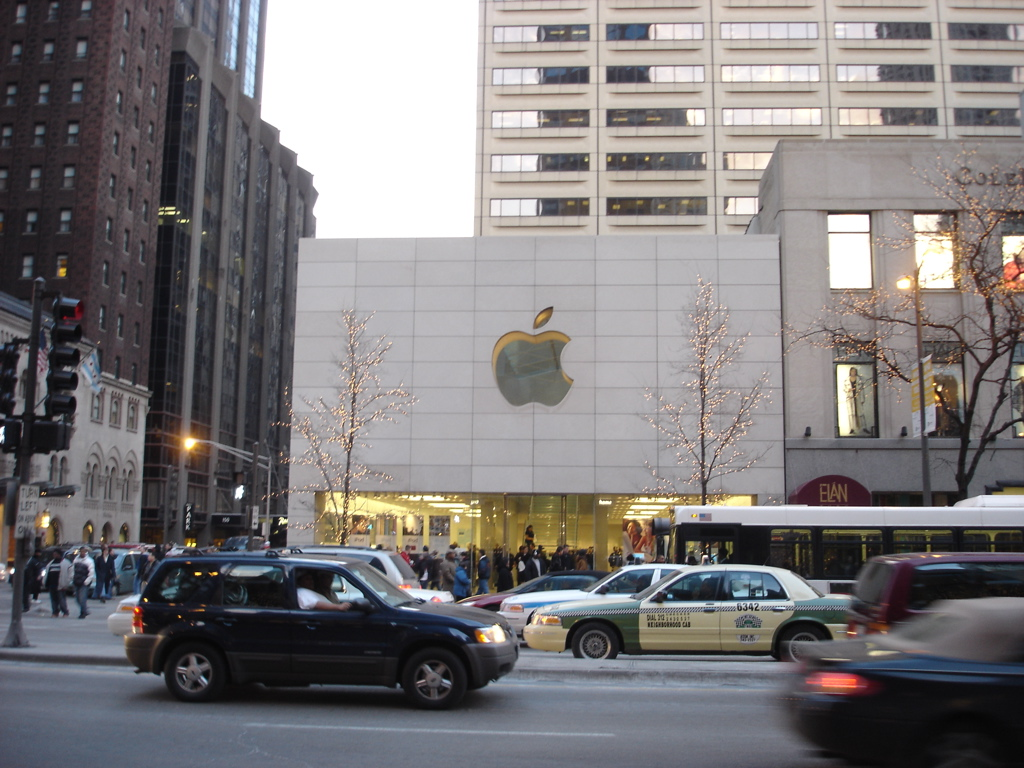 chicago apple store
